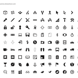 Pictos 2 Icon Set