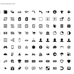 Pictos 3 Icon Set