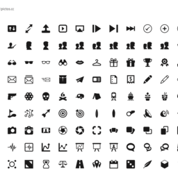 Pictos 4 Icon Set