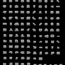 Icons Stencil