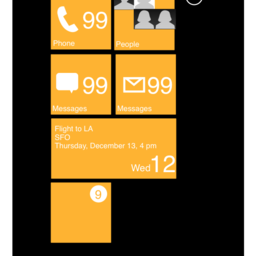 Windows Phone Stencil