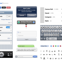 iPhone 5 GUI
