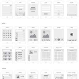 Mobile App Visual Flowchart