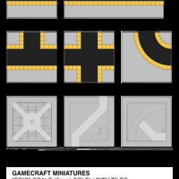 SCI-FI City tiles