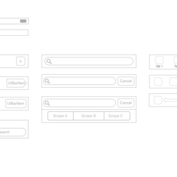 iOS Wireframe iPhone