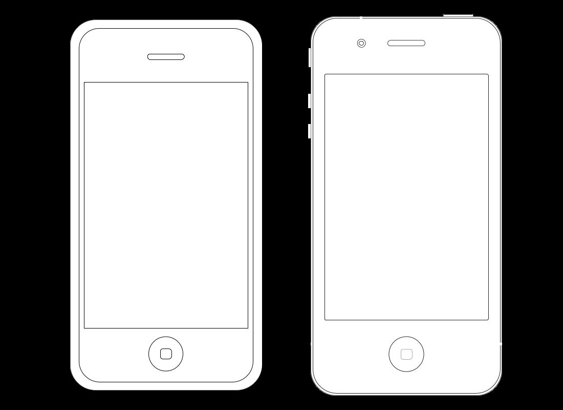 Ios Wireframe Iphone Graffletopia