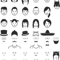 Lil Faces - Customizable faces