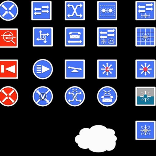 Network Stencils Simplified | Graffletopia