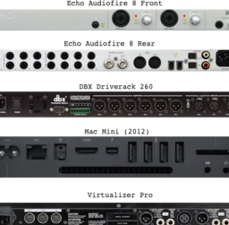 Playback & Processing Units