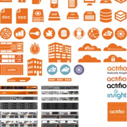 Actifio Icon Set 2016