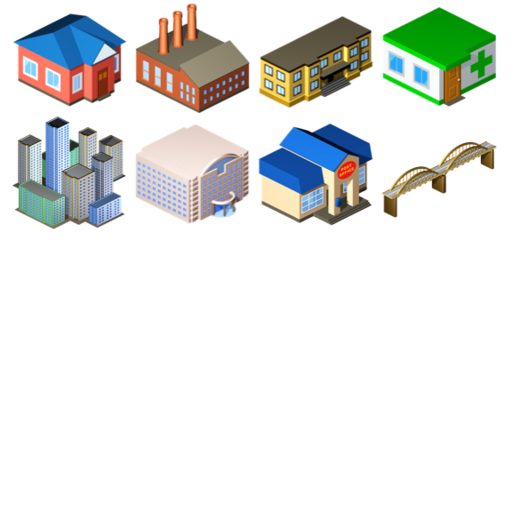 Pretty Urban Building Icons