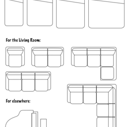 Floorplans: Furniture