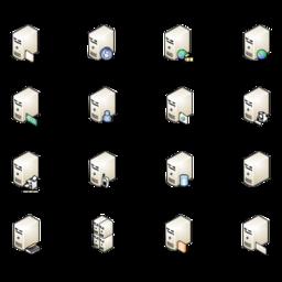 Servers (isometric)
