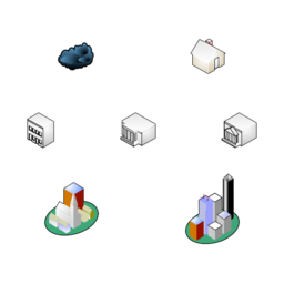 Network Locations (isometric)