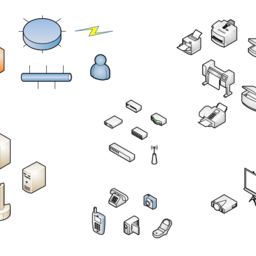 Network and Peripherals (isometric)