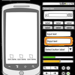 Android Sketch Stencil Version 1.0