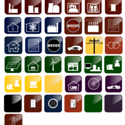 Smart Grid Icons IIa