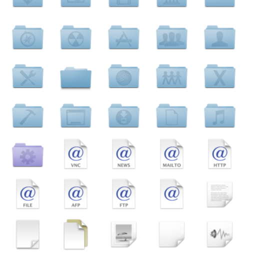 Apple Folder Elements 2010