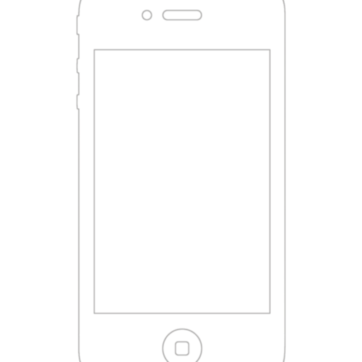 iPhone 4 Wireframe Stencil