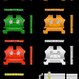 ADC-Single Level Terminal Blocks 12AWG