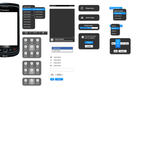 BlackBerry User Interface