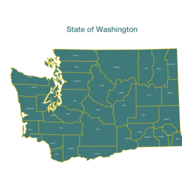 State of Washington counties