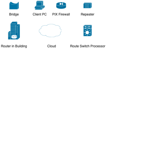 Basic Cisco Icons