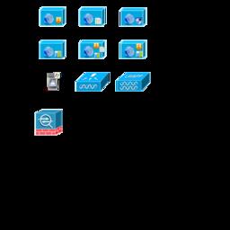 Cisco ISE Identity Services Engine Icons PPT