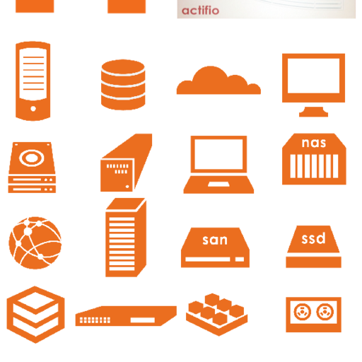 Actifio Icon Set 2012