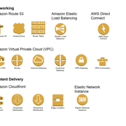AWS Icons: Networking