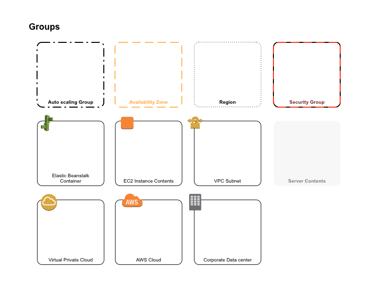 Aws simple icons groups graffletopia aws amazon systems architecture ccuart Images